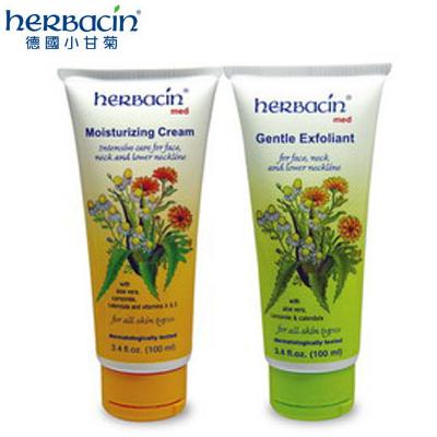 德國Herbacin 小甘菊敏感肌膚保溼霜/去角質【特價】§異國精品§可超取