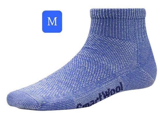 ├登山樂┤美國 Smartwool 女- Hike Ultra Light Mini Sock 美麗諾羊毛 輕薄短筒登山襪(藍/M) # SW452