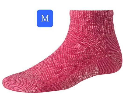 ├登山樂┤美國 Smartwool 女- Hike Ultra Light Mini Sock 美麗諾羊毛 輕薄短筒登山襪(紅/M) # SW452