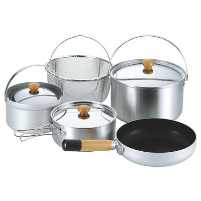 ├登山樂┤日本 UNIFLAME FAN 5 DUO不鏽鋼鍋具組 # U660256