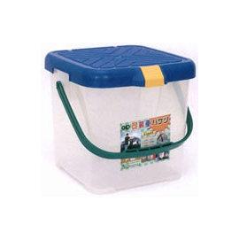 ├登山樂┤RV桶 多用途承重置物桶、水桶、月光寶盒 也可當座椅 RV桶(紅、黃、藍) # P888※不挑色