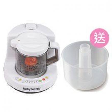 【悅兒園婦幼生活館】美國Baby brezza食物調理機【買再送 專用蒸鍋x1】