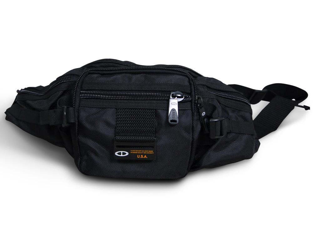 【加賀皮件】 TATI 防潑水 多層收納 水餃型腰包 ST071