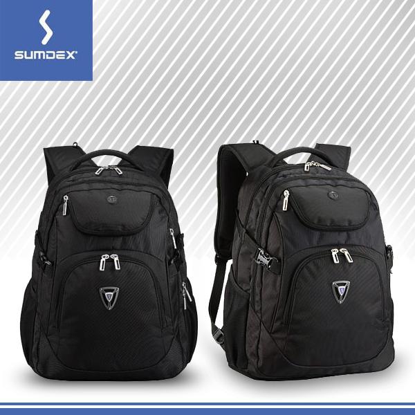 【SUMDEX】 17吋 X-Sac疾速豪華商旅科技背包 PON-374