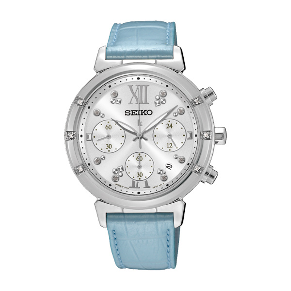 Seiko Lukia V175-0DF0B(SSC856J1)幸福溫暖太陽能計時腕錶/白面36mm