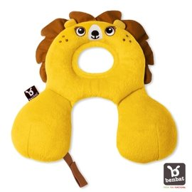 【淘氣寶寶】【以色列Benbat】寶寶旅行頸枕/頭枕 適用0-1歲 獅子【保證公司貨●品質有保證●非水貨】
