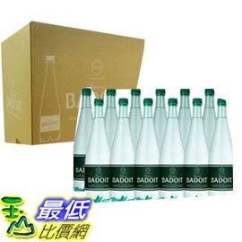 [COSCO代購 如果沒搶到鄭重道歉] BADOIT 波多 氣泡天然礦泉水1000毫升 X 12瓶 W109338