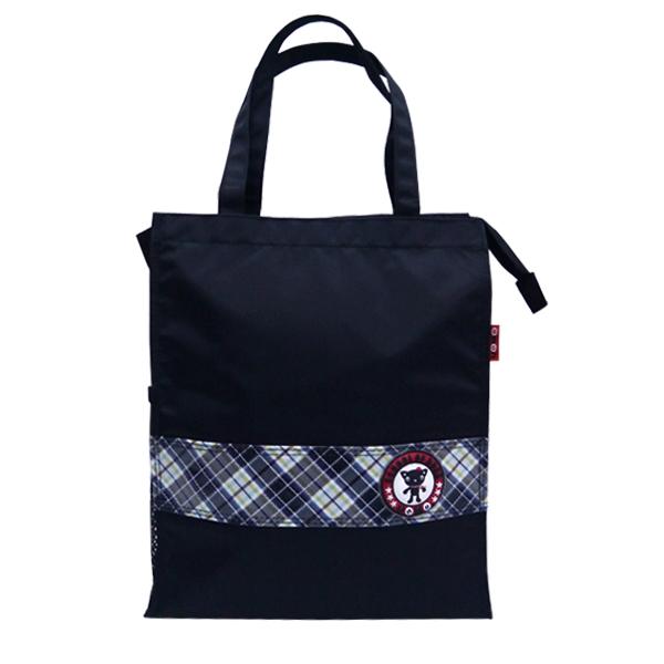 加賀皮件 Unme兒童可愛直式多功能手提袋/購物袋/補習袋/台灣製造(1318c)