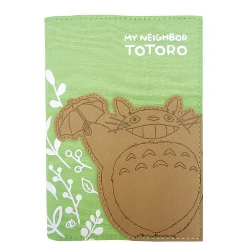 【真愛日本】1608280000817手帳本-皮雕龍貓綠  龍貓 TOTORO 豆豆龍 年曆 日曆