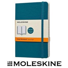 義大利 MOLESKINE 67323517 彩色橫條筆記本 / 軟式 / 藍 / P