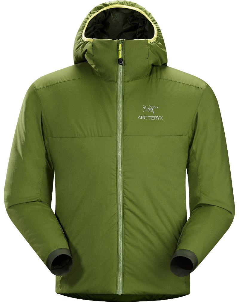 [ Arcteryx 始祖鳥 ] 14648 Atom AR Hoody 連帽化纖保暖外套/防潑水滑雪外套/雪衣/登山保暖層 男款 雙葉綠Arc\