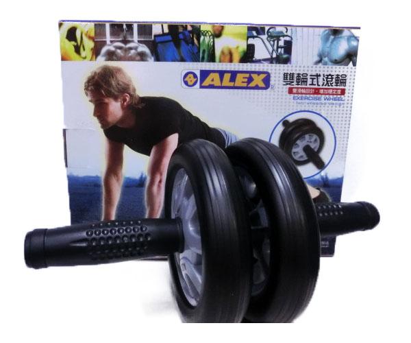 【登瑞體育】ALEX 雙輪式滾輪  B-21