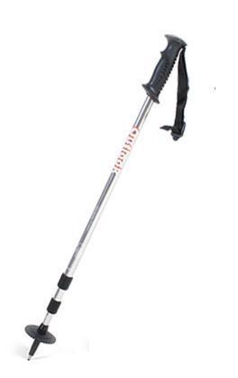 【鄉野情戶外專業】 OUTLOOK 航太合金鋁合金7075 三節式登山杖-銀 WS-1AB (超值加購商品)