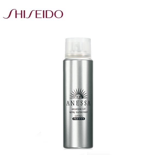 SHISEIDO資生堂 ANESSA 安耐曬 銀鑽保濕防曬噴霧SPF50+60g再送試用包2入