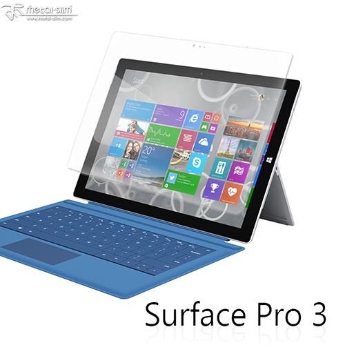 【UNIPRO】 Microsoft Surface Pro 3 9H弧邊耐磨防指紋鋼化玻璃保護貼