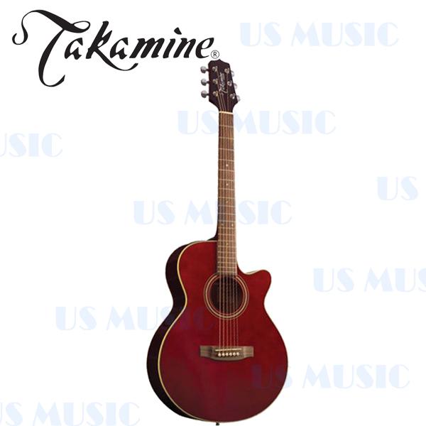 【非凡樂器】『Takamine 電木吉他 民謠吉他ED51C(ED-51C) 』(酒紅色) 全球音樂界信賴的品牌樂手的最愛