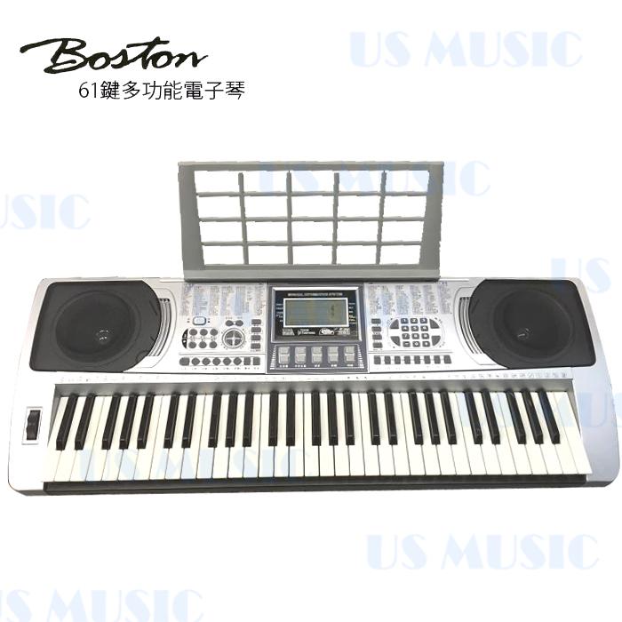 【非凡樂器】【BOSTON 標準61鍵可攜式電子琴BSN-250】送midi轉USB轉接頭
