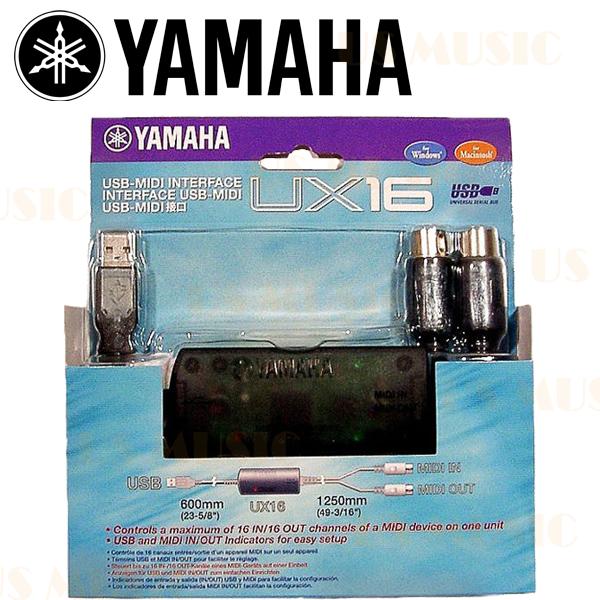 【非凡樂器】『YAMAHA山葉MIDI-USB介面傳輸線』UX16