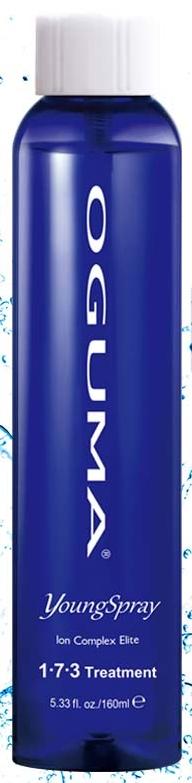 OGUMA 水美媒 2X 保濕噴霧/化妝水 160ml 1‧7‧3噴年輕 裸瓶無噴頭 *夏日微風*