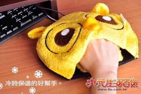 【九元生活百貨】貓頭鷹USB保溫滑鼠墊 保溫墊 滑鼠墊