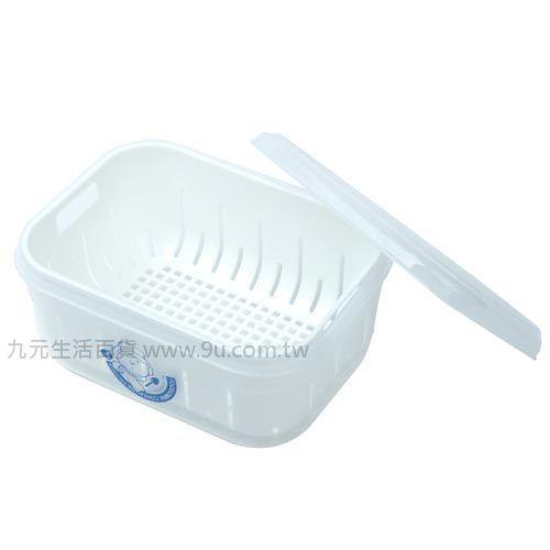 【九元生活百貨】佳斯捷 7883 甜媽媽3號濾水保鮮盒-1500ml 保鮮盒 濾水保鮮盒