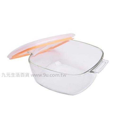 【九元生活百貨】耐熱玻璃萬用鍋-1.2L 保鮮 烤皿 玻璃鍋 耐熱鍋