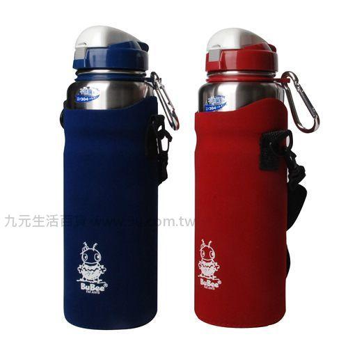 【九元生活百貨】金星Y-792SB #304不鏽鋼休閒壺-1000cc(附保溫套) 水壺 保溫瓶