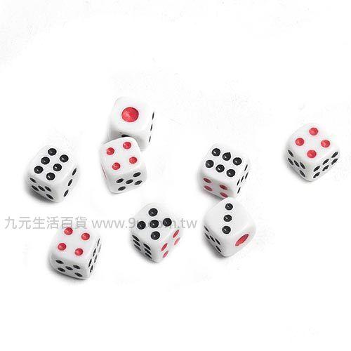【九元生活百貨】12mm骰子/8入 桌遊