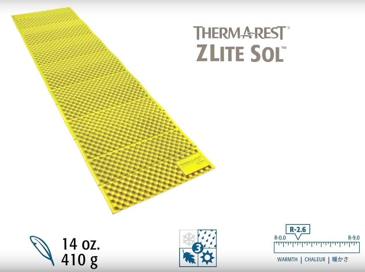 ├登山樂┤美國ThermARest Z Lite Sol 折疊睡墊R 標準版 #06670