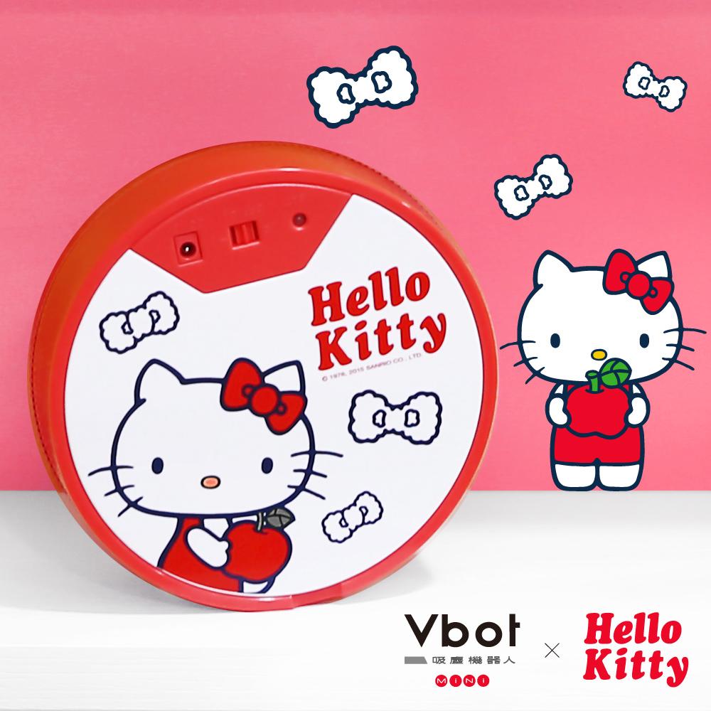 ★送禮首選★Vbot x Hello Kitty 二代限量 鋰電池智慧掃地機器人(極淨濾網型)(白)