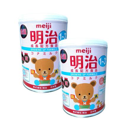 【悅兒樂婦幼用品?】【新包裝】MEIJI 金選明治成長奶粉3號850g【2罐】