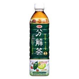 愛之味油切分解茶600g-單瓶【合迷雅好物商城】