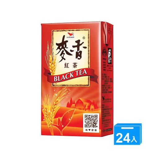 統一麥香紅茶 300ml-2箱(48入)*黑貓配送*【合迷雅好物商城】