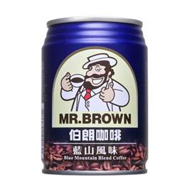 金車伯朗藍山咖啡240ml(24罐/箱)【合迷雅好物商城】
