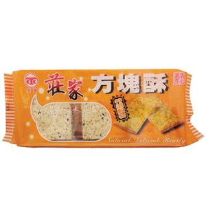 -嘉義名產-《莊家》方塊酥-特選穀物220g x1包 優惠特價中【合迷雅好物商城】