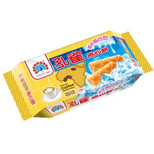 ●孔雀捲心餅63g-咖啡口味-單包【合迷雅好物超級商城】