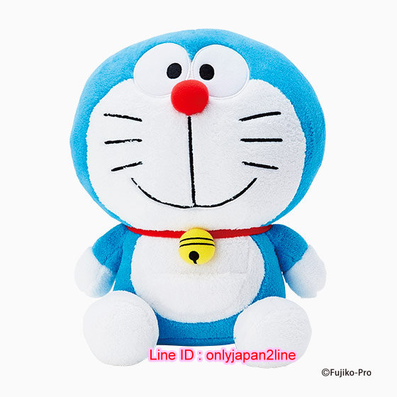 【真愛日本】ED DM造型立偶-M  Doraemon 哆啦A夢 小叮噹 娃娃 玩偶 擺飾