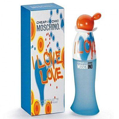 香水1986☆Moschino I Love Love 愛戀愛女性淡香水 50ml