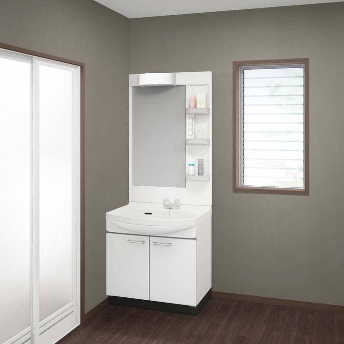 【現貨+預購】日本衛浴用水材-Takara Standard 琺瑯洗面化妝台【WSS75SW】白色
