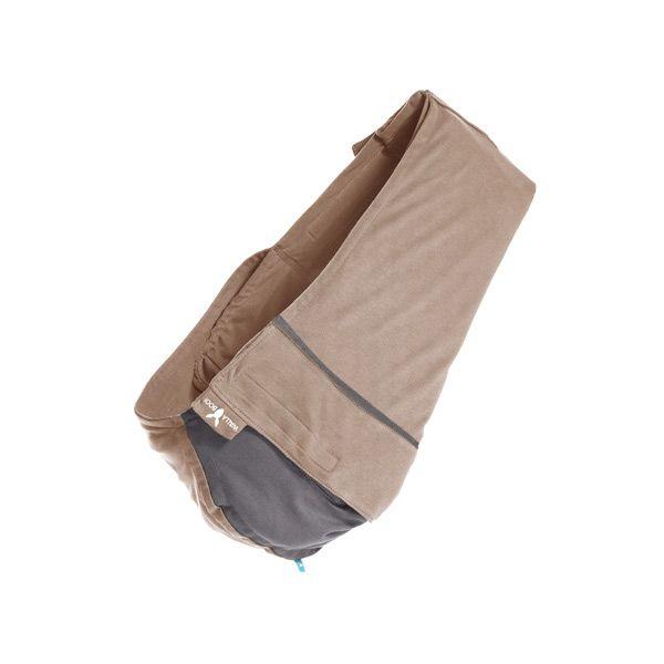 【安琪兒】荷蘭【wallaboo】酷媽袋鼠背巾 - 雙色系(駝/灰)