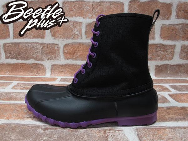 BEETLE PLUS 全新 NATIVE JIMMY JIFFY BLACK PURPLE 黑紫 獵牙靴 超輕量 GLM15W-013