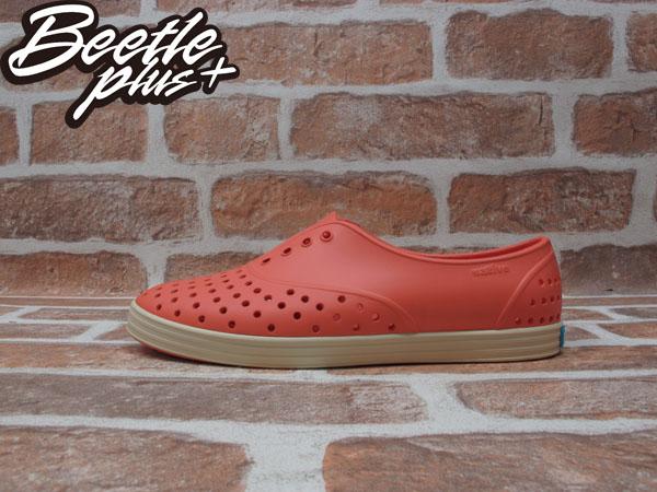 BEETLE PLUS 全新 2014 春夏 NATIVE JERICHO CANTALOUPE PINK 橘紅 葡萄柚 女鞋 GLM04W-674
