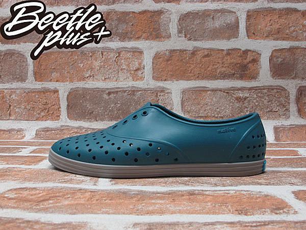 BEETLE PLUS 全新 NATIVE JERICHO FADED GLORY BLUE 湖水藍 3代 藍 綠 鐵灰 灰底 超輕量 女鞋 GLM04W-425