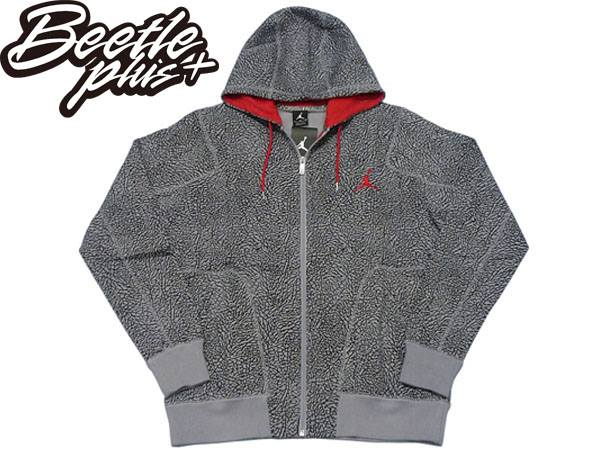 BEETLE PLUS NIKE AIR JORDAN OWN HOODIE 灰紅 爆裂紋 喬丹 3代 AJ3 紅外線 外套 584059-025