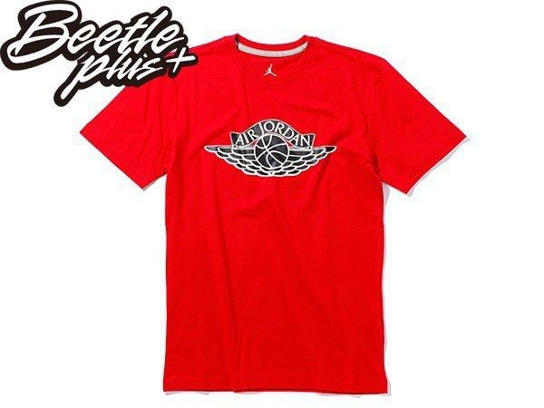 BEETLE PLUS NIKE AIR JORDAN WINGS LOGO 翅膀 紅黑 黑紅 芝加哥 飛人 喬丹 TEE 短T 657510-695