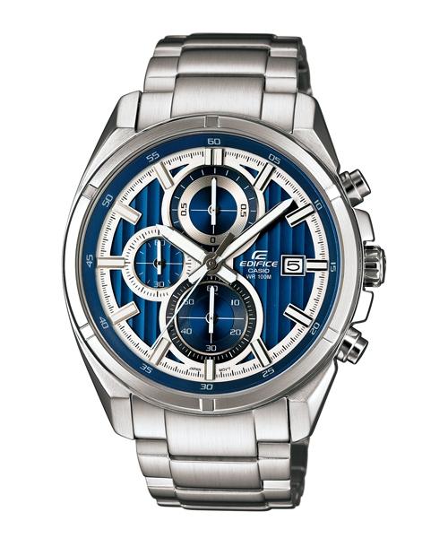 CASIO EDIFICE EFR-532D-2A魅力賽車流行時尚腕錶/藍面43.5mm