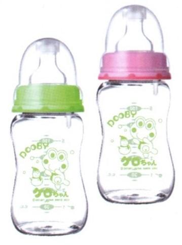 大眼蛙 防爆寬口玻璃防脹奶瓶 200c.c. / 280c.c.