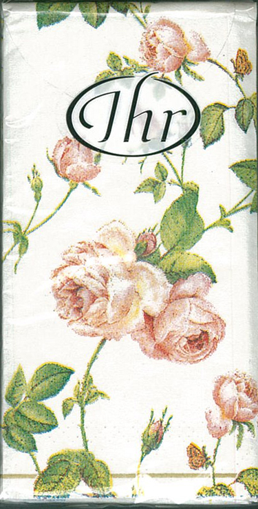 粉紅玫瑰- 德國 IHR 紙手帕