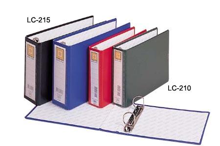 【連勤】LC-210 二孔D型/二孔夾/檔案夾/資料夾 A4 (金禾皮)