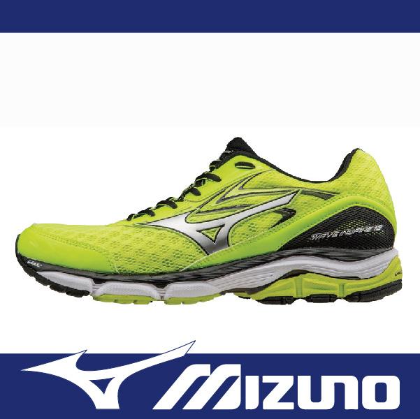 萬特戶外運動 MIZUNO J1GC164407 男慢跑鞋 INSPIRE 12 支撐型 適合扁平足 低足弓 舒適 吸震 螢光黃